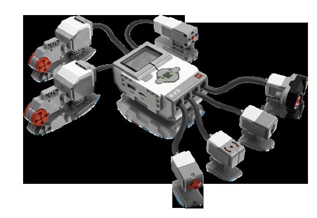 Ladrillo, elementos y sensores - LEGO Mindstorms EV3 en RO-BOTICA